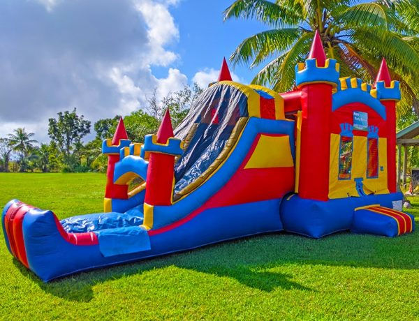 4in1 bounce house with slide