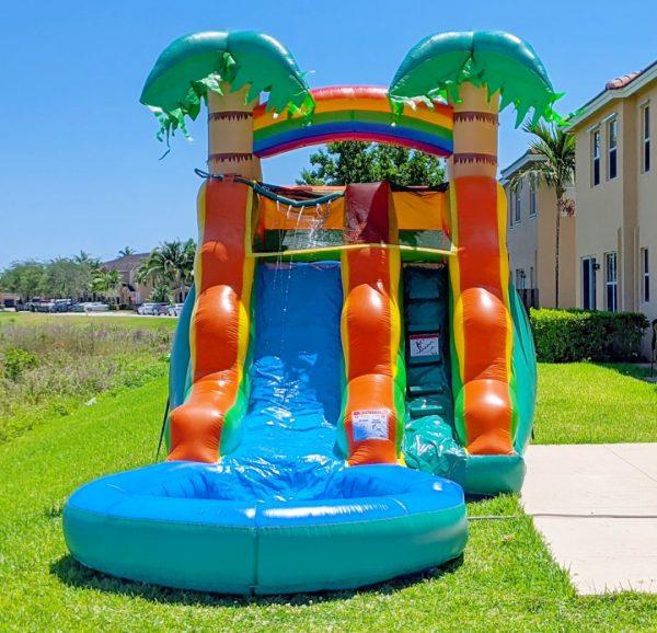 13ft kids lagoon water slide rental