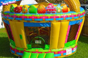 Miami Easter Bunny bounce house rental
