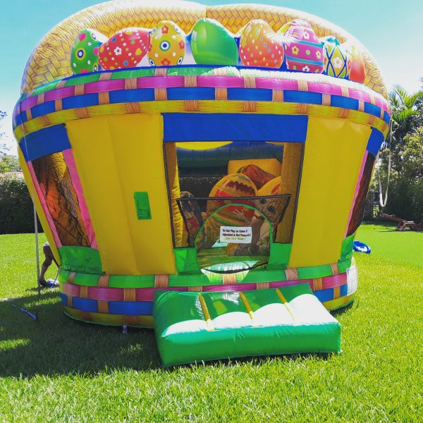easter bounce house rental in miami