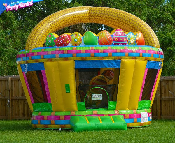 Easter Basket bounce house rental for kids