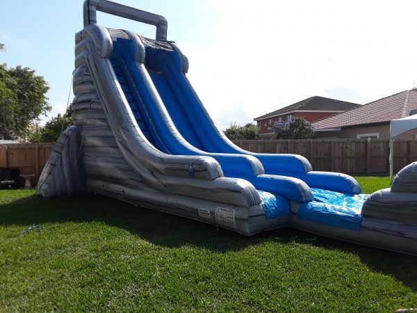 22ft waterslide rental delivered in kendall, FL