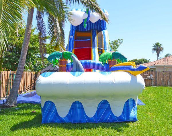 24ft big slide rental in homestead, fl