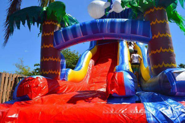 24ft big slide rental in kendall