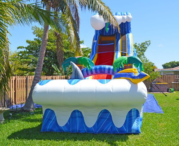 24ft water slide for pool parties