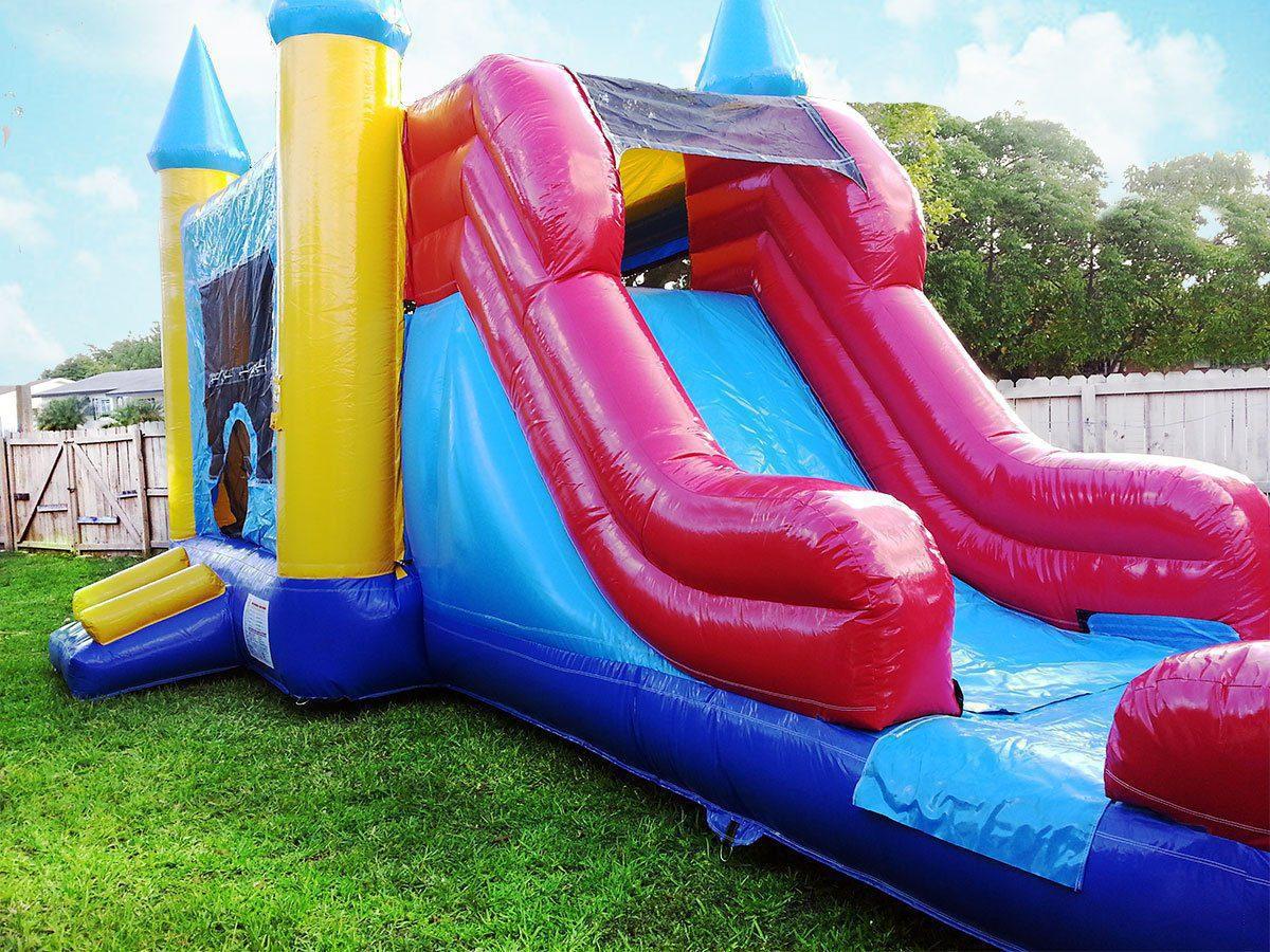 Castle Bounce House & Water Slide