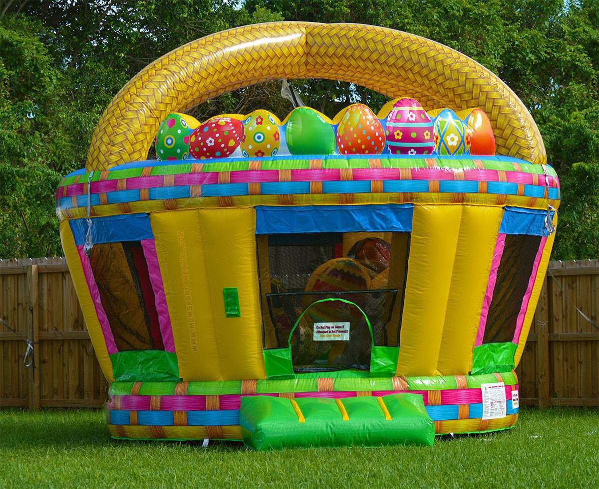 Easter Bunny Bounce House