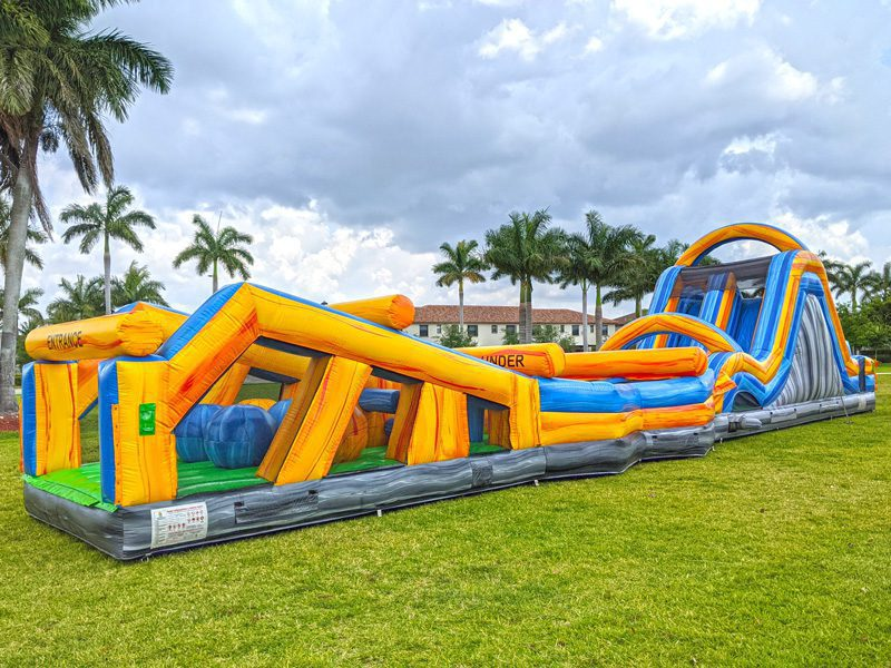 70ft Mega Run Obstacle Course