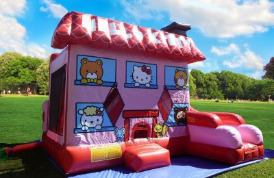 7in1 hello kitty boucy house combo