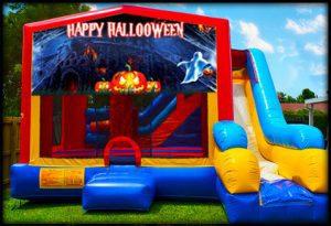 7in1 halloween bounce house combo