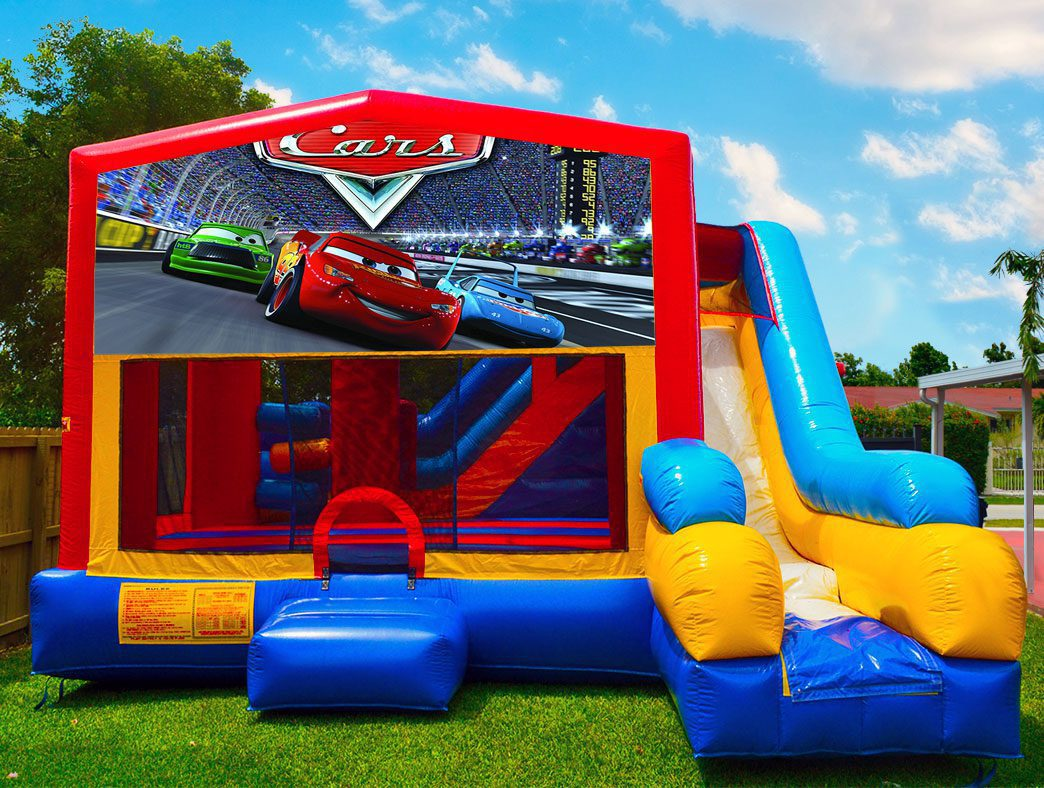 7in1 Cars Bounce House