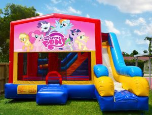 my little pony bounce house with slide