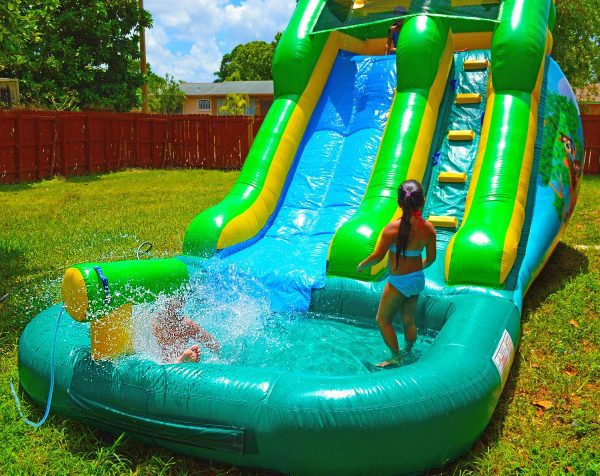 12ft safari water slide for kids