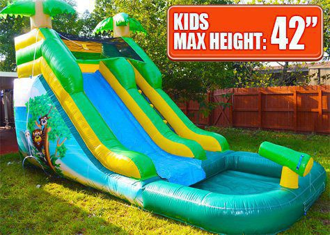 kids slide rental