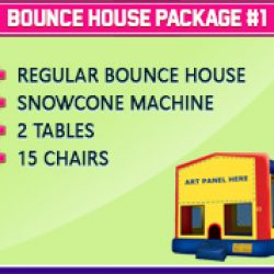 Bounce House Package #1