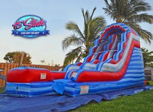 15ft july 4th water slide rental