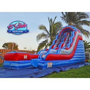 15ft july 4th water slide rental