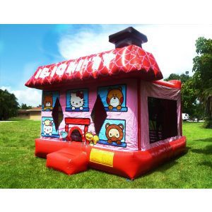 Hello kitty bounce house rental in miami