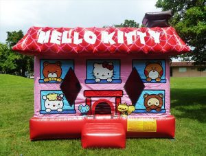 3D Hello kitty bounce house in miami, fl