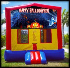 module halloween spooky bounce house combo