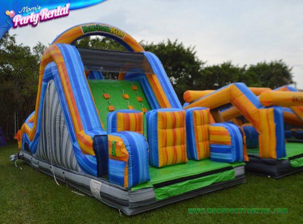 obstacle slide rental in miami fl