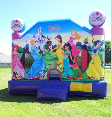 4in1 princess bounce house