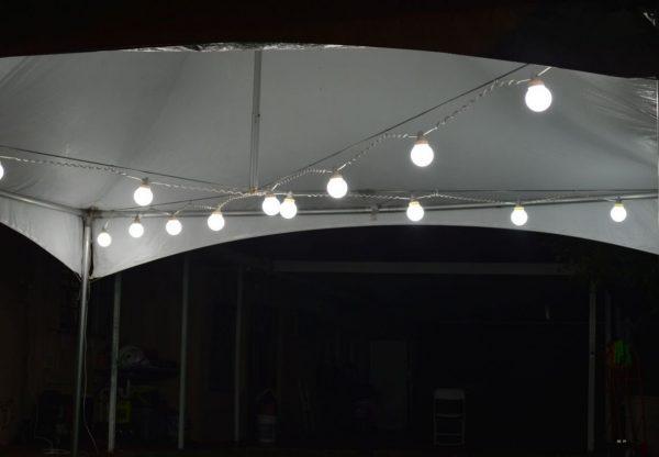Tent Globe Lights