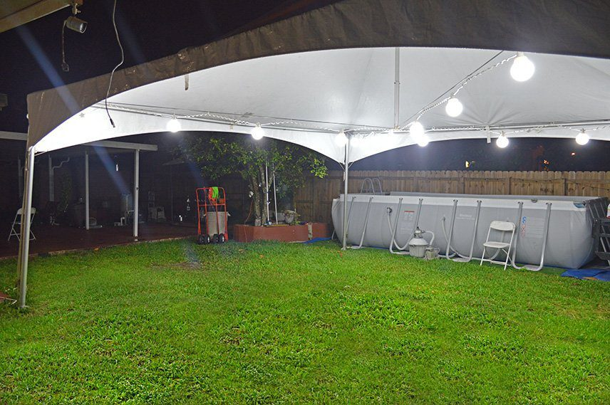 Tent Globe Lights Mom S Party Al