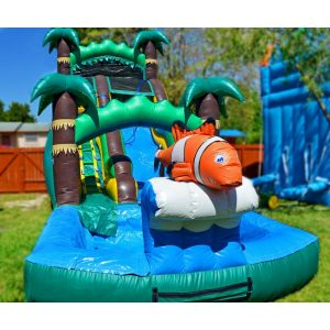 tropical nemo waterslide rental