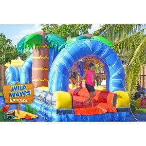 wild waves slip n slide delivered in kendall, florida