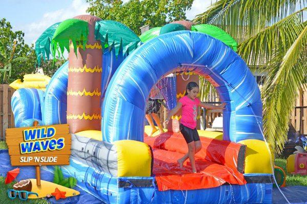 wild waves slip n slide delivered in kendall, florida