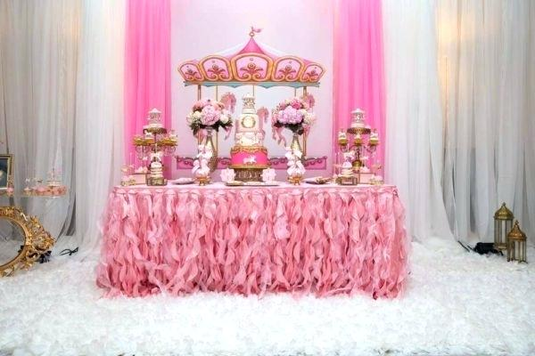 baby-shower-sweet-table-carousel-in-pink-dessert