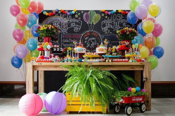 decorations of birthday party