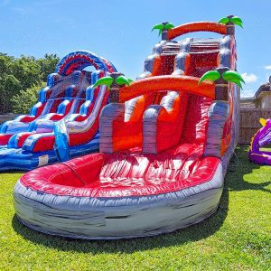 19ft volcano water slide rental