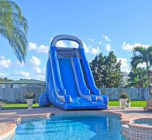 water slide rental in miami for pools