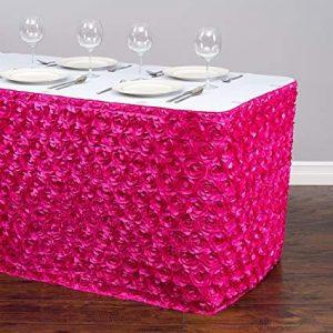 pink fuchsia skirt tablecloth