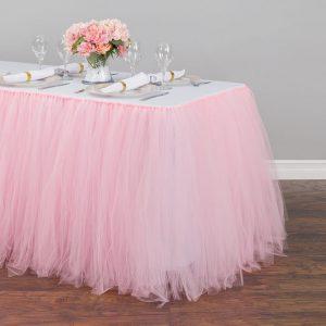 tutu tablecloth skirt