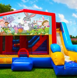Happy Easter 7in1 Bounce House