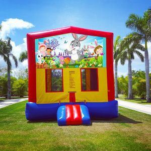 happy easter 7in1 bounce house renal