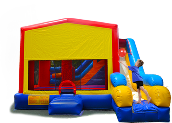 7in1 bounce house rental in miami
