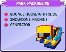 PARTY RENTAL PARK PACKAGE #2