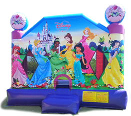 princess bounce house rental in miami