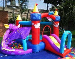 dragon toddler bounce house