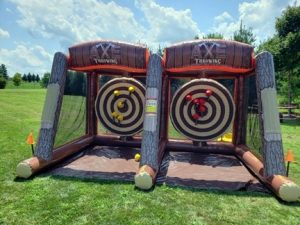 Axe Throwing Game Rental