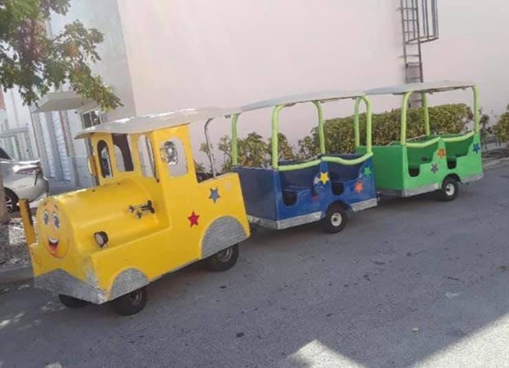 Trackless Train Rental in Miami