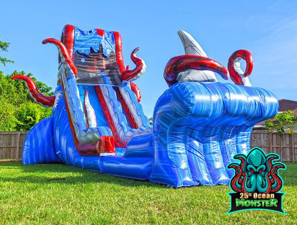 25ft ocean water slide rental
