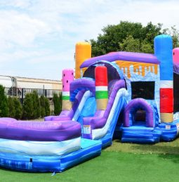 Ice Pops Bounce House Combo