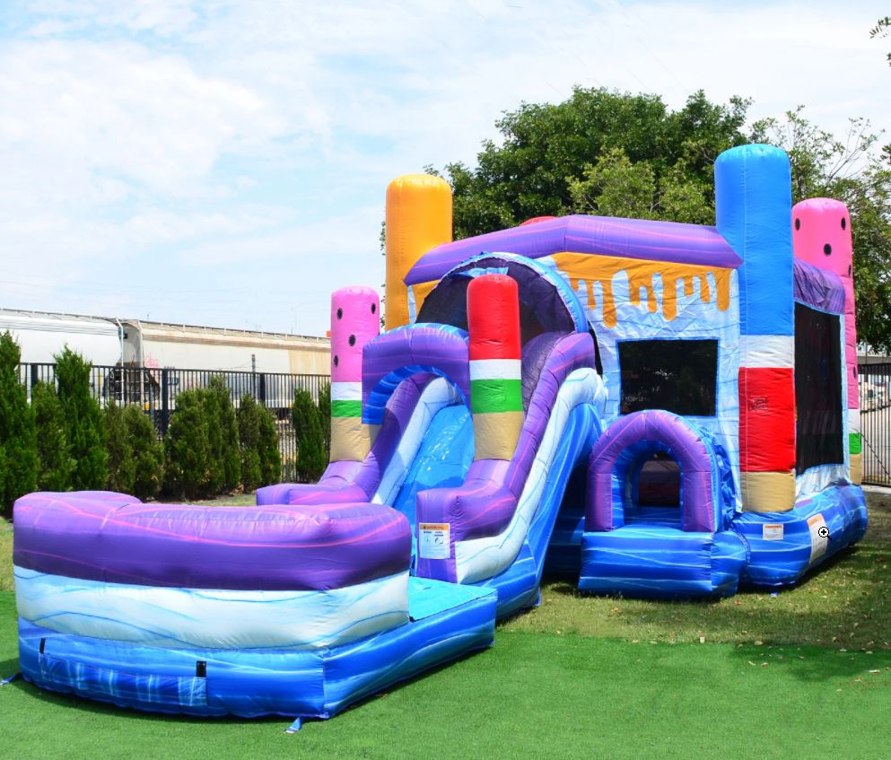 Ice Pops Bounce House & Water Slide