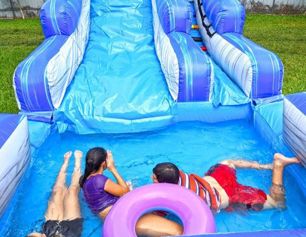 22ft the screamer water slide pool