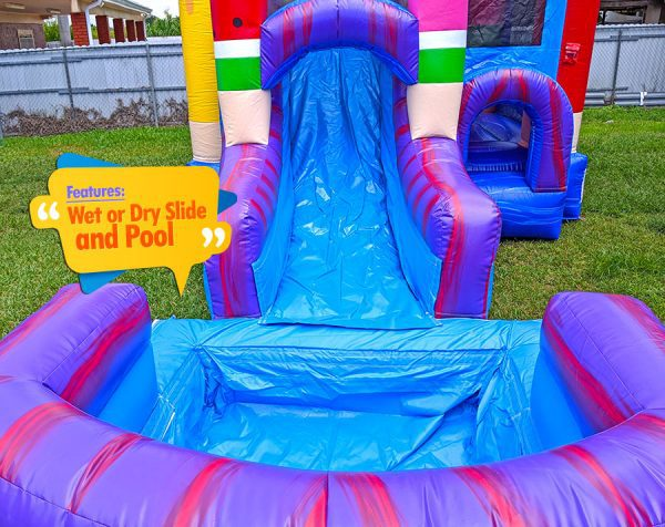 Ice-pops-bounce-house-big-pool